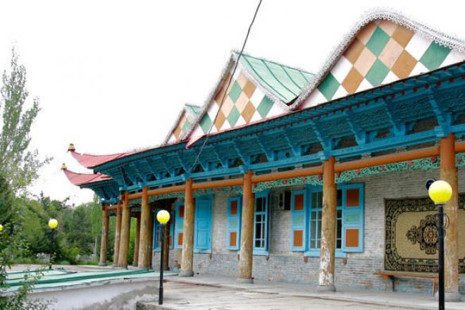 Dungan Mosque Karakol , visit ,discovery and explore Kyrgyzstan with the Ai Tour Travel Agency Bishkek